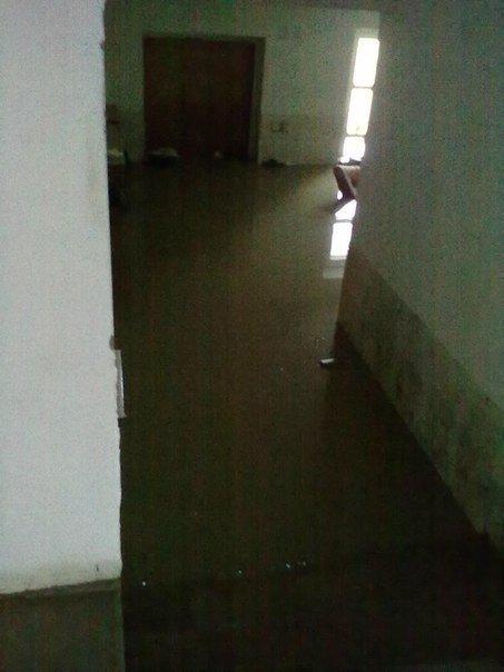 Наводнение привело к многочисленным