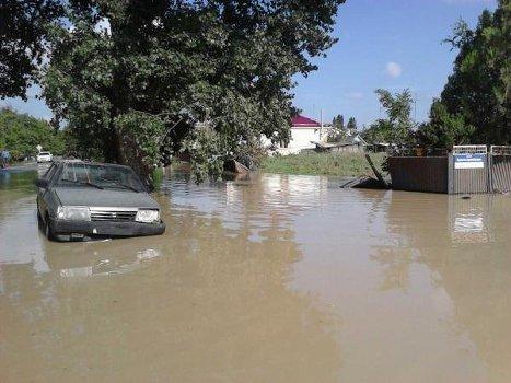 Фото — наводнение на кубани