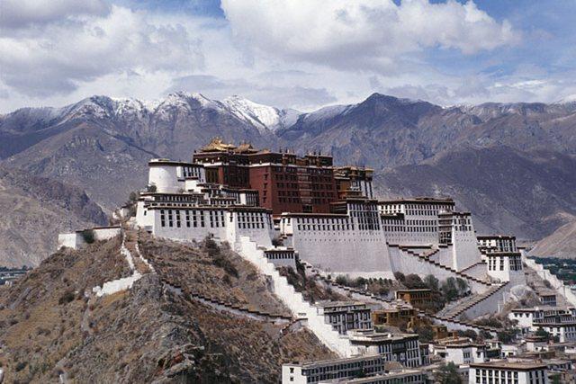 В тибете произошло землетрясение