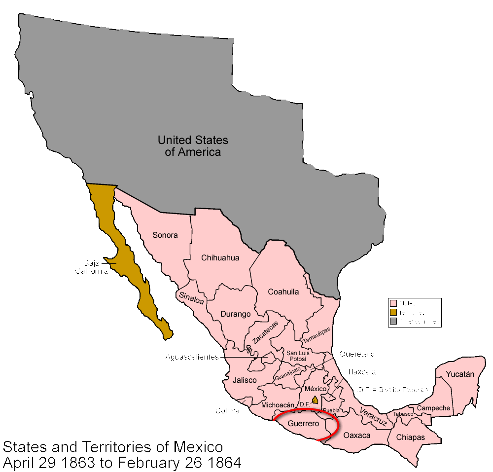 Mexico_1863_to_1864