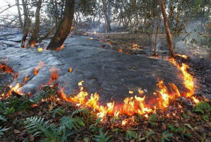 Извержения вулкана килауэа гавайи